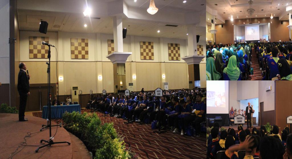 Suasana Saat Burhanudin Amin Menyampaikan Materi Seminar di hadapan para Peserta Seminar