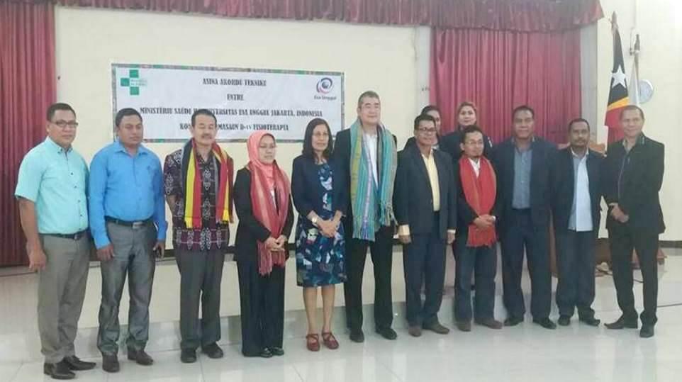 Timor Leste Kirim 10 Mahasiswanya Belajar Ke Esa Unggul