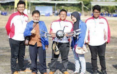 The Merriage Robot Esa Unggul Raih Juara Di Kontes Robotik Nasional