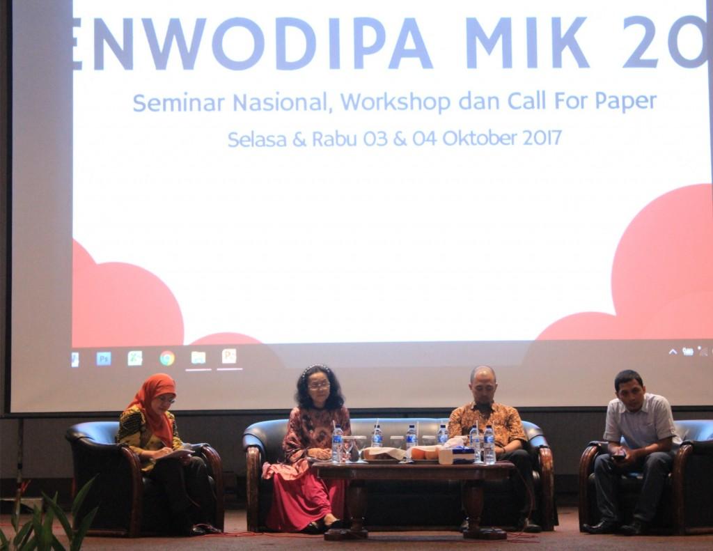 Para Pembicara Saat Seminar Senwodipa 2017