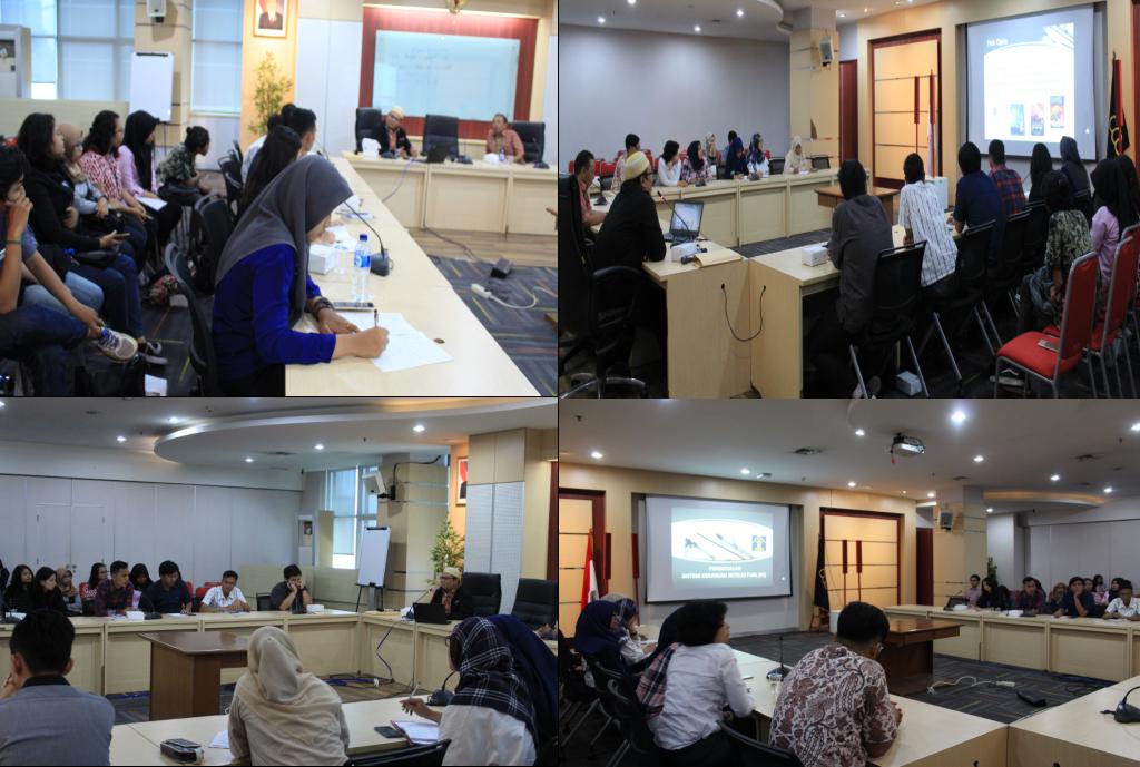 Suasana Audiensi dan Diskusi Kementerian Hukum dan HAM