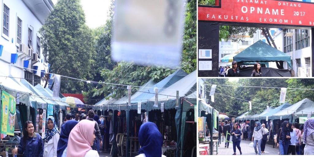 Suasana Saat Bazaar Opname