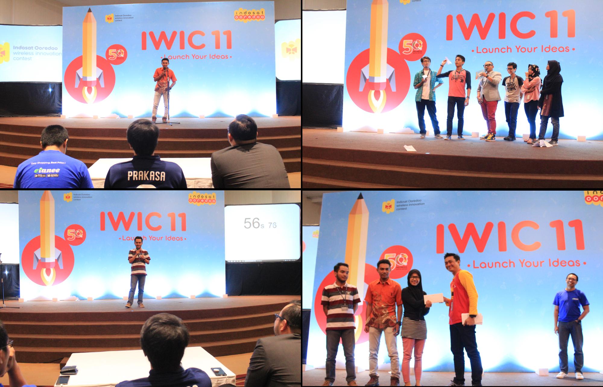 Games serta presentasi Seru diacara IWIC 11