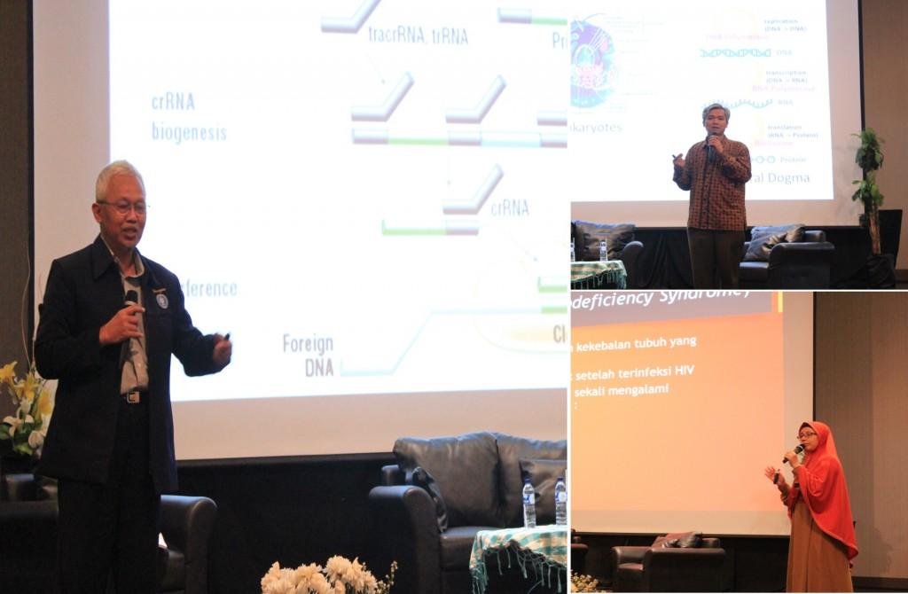 Para Pembicara di Seminar Nasional Bioteknologi