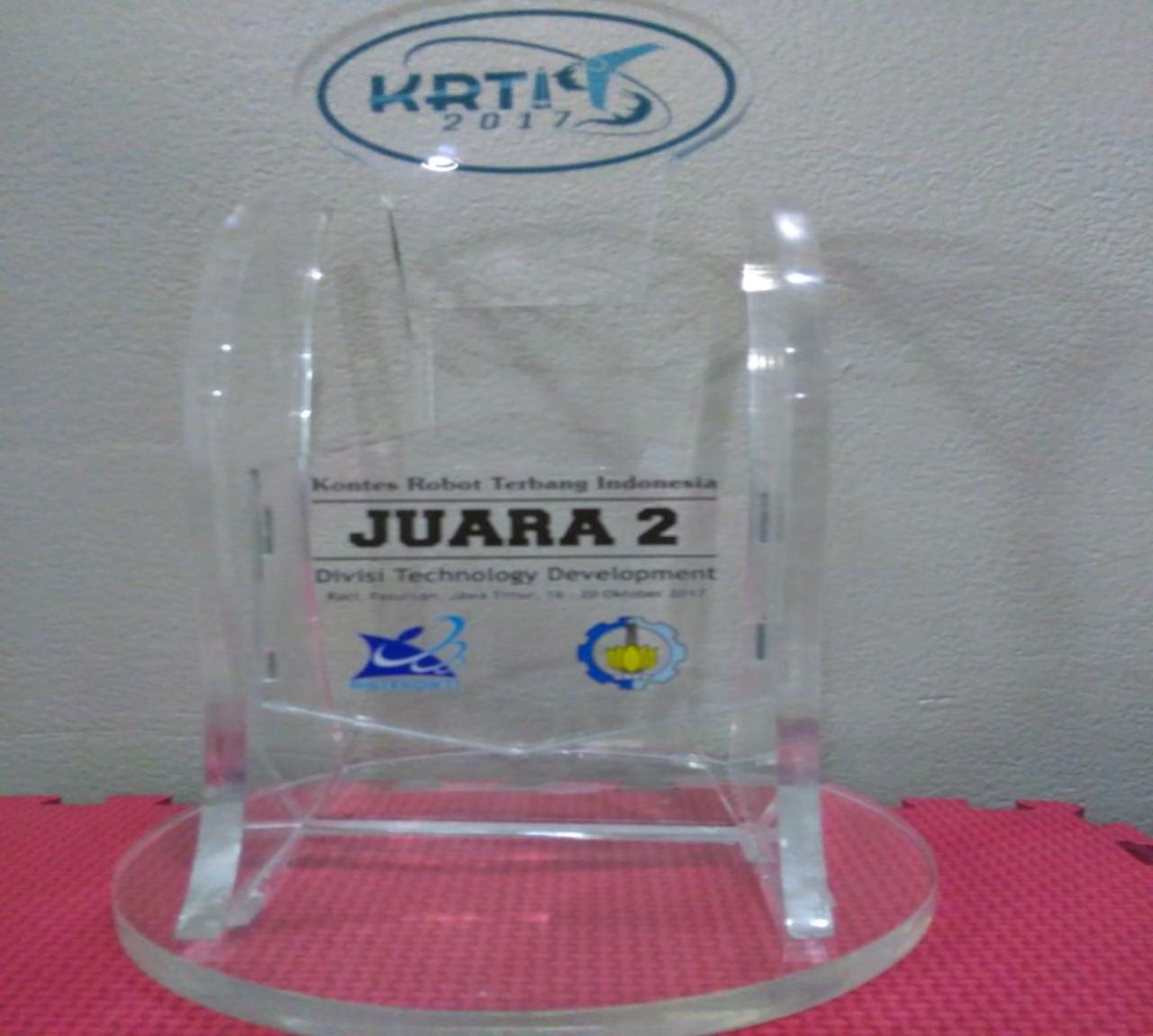 Piala Penghargaan Kontes Robot Terbang Indonesia