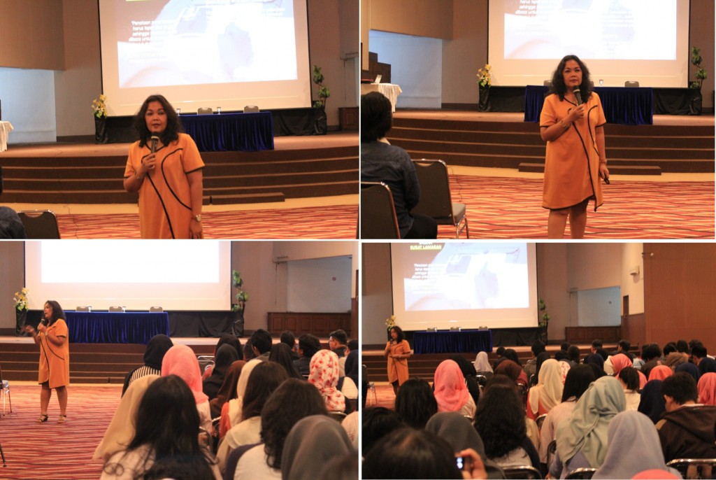 Seminar kedua bertajuk Excellent Resume For Fresh Graduates