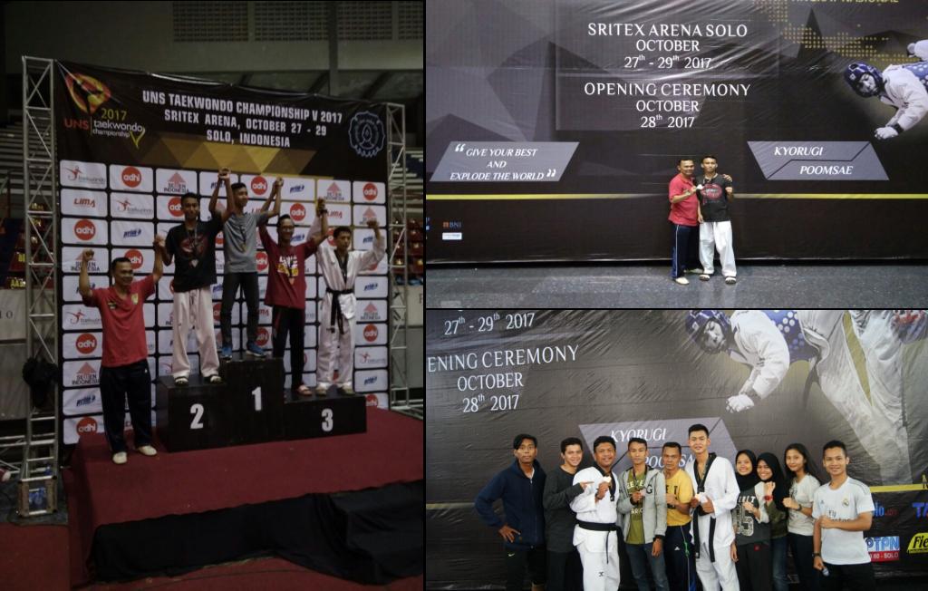 Suasana Saat Kejurnas Taekwondo