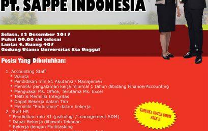 PT. Sappe Indonesia