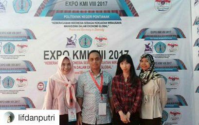 Universitas Esa Unggul di Expo Kewirausahaan Mahasiswa Indonesia dan KMI Award 2017