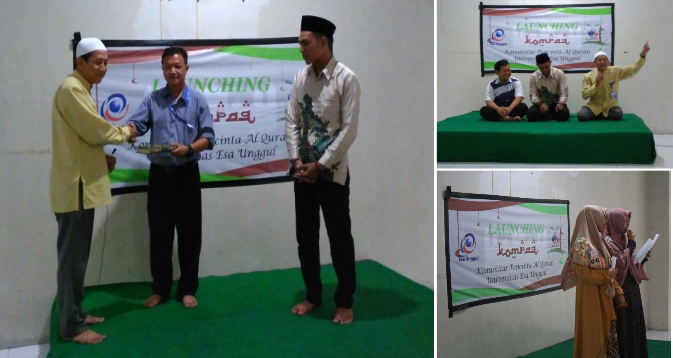 Launching Perdana Komunitas Pecinta Al-qur'an Universitas Esa Unggul