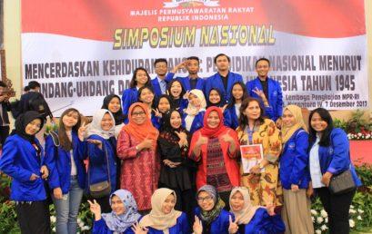 Fakultas Ilmu Komunikasi Esa Unggul Ikuti Simposium Nasional MPR Bahas Pendidikan Nasional