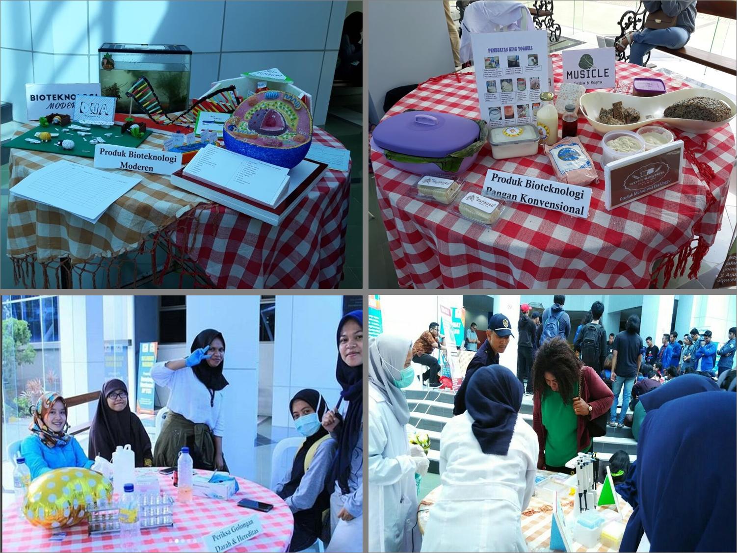 Suasana Saat Biotech Festival