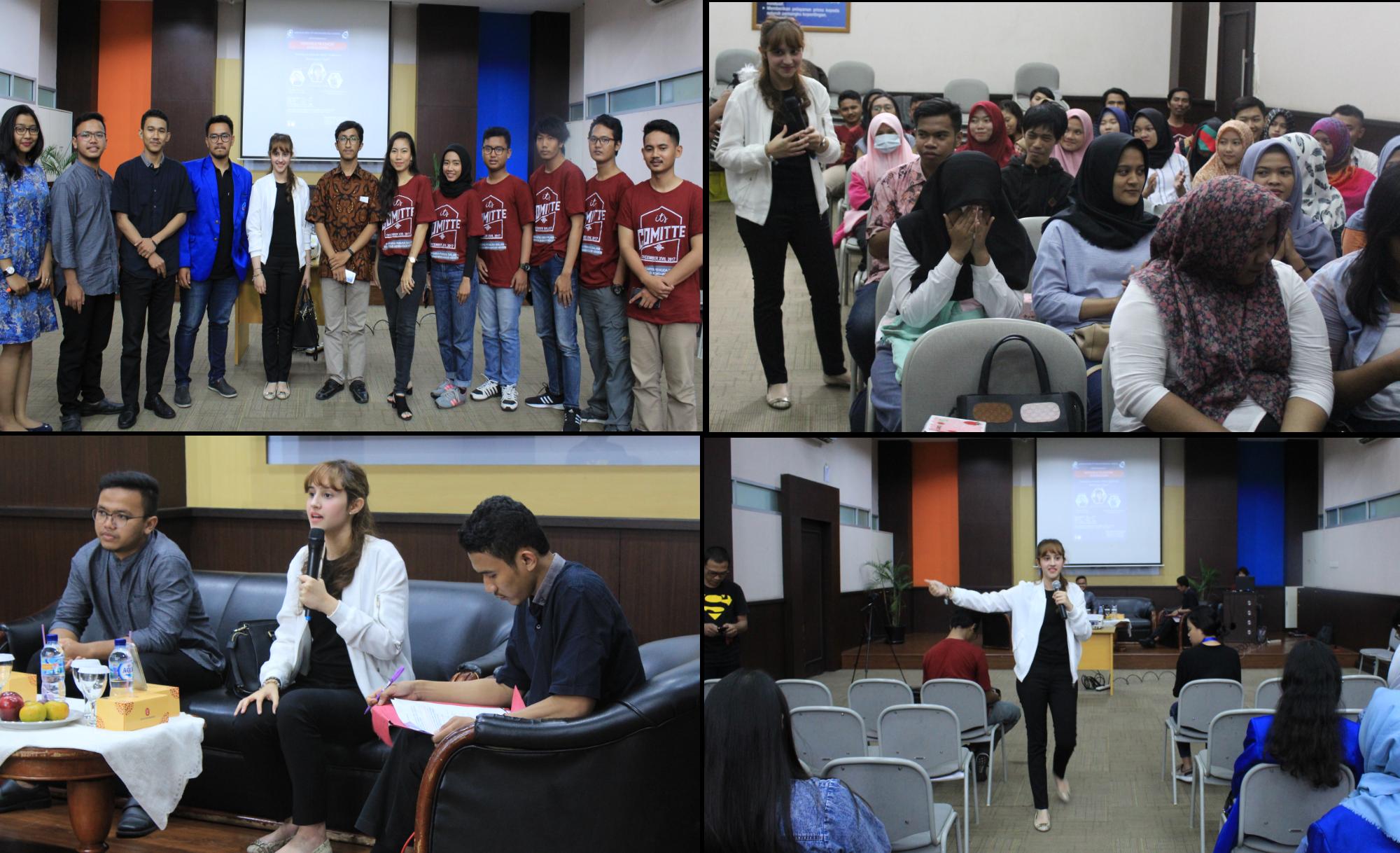 Suasana Saat Seminar dan Workshop Tsamara Amany