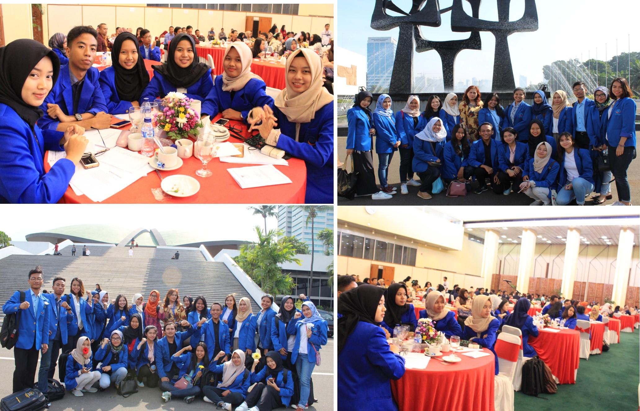 Para Mahasiswa yang mendapatkan Pengalaman Baru di Acara Simposium Nasional