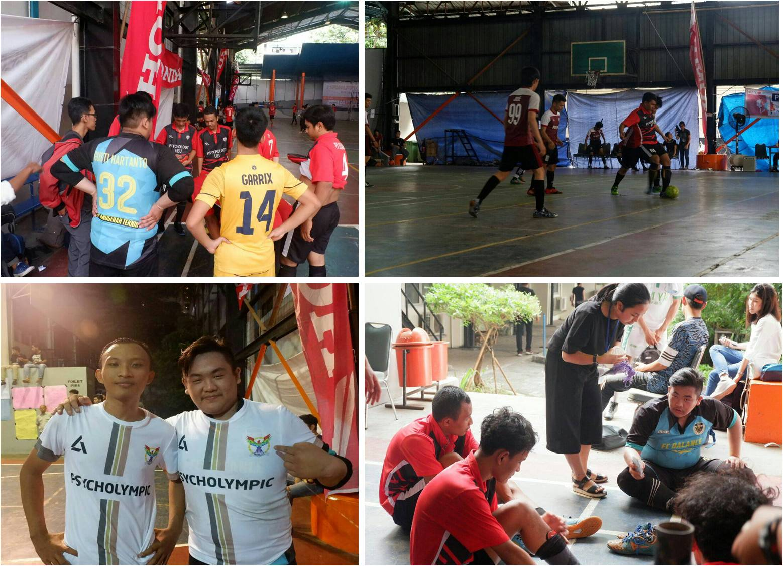 Tim Futsal Esa Unggul Saat berkompetisi Psycholympic