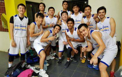 Tim Basket Putera Universitas Esa Unggul Runner Up di Universiade Universitas Indonesia 2017