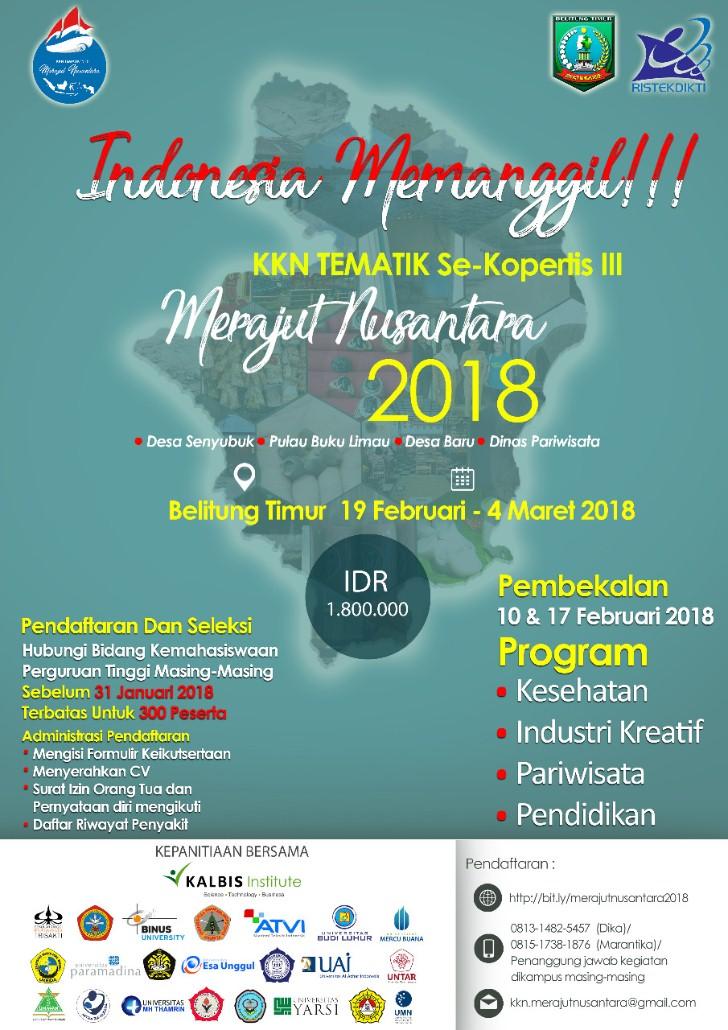 Poster Indonesia Memanggil