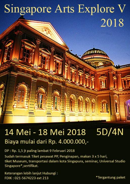 Singapore Arts Explore V 2018