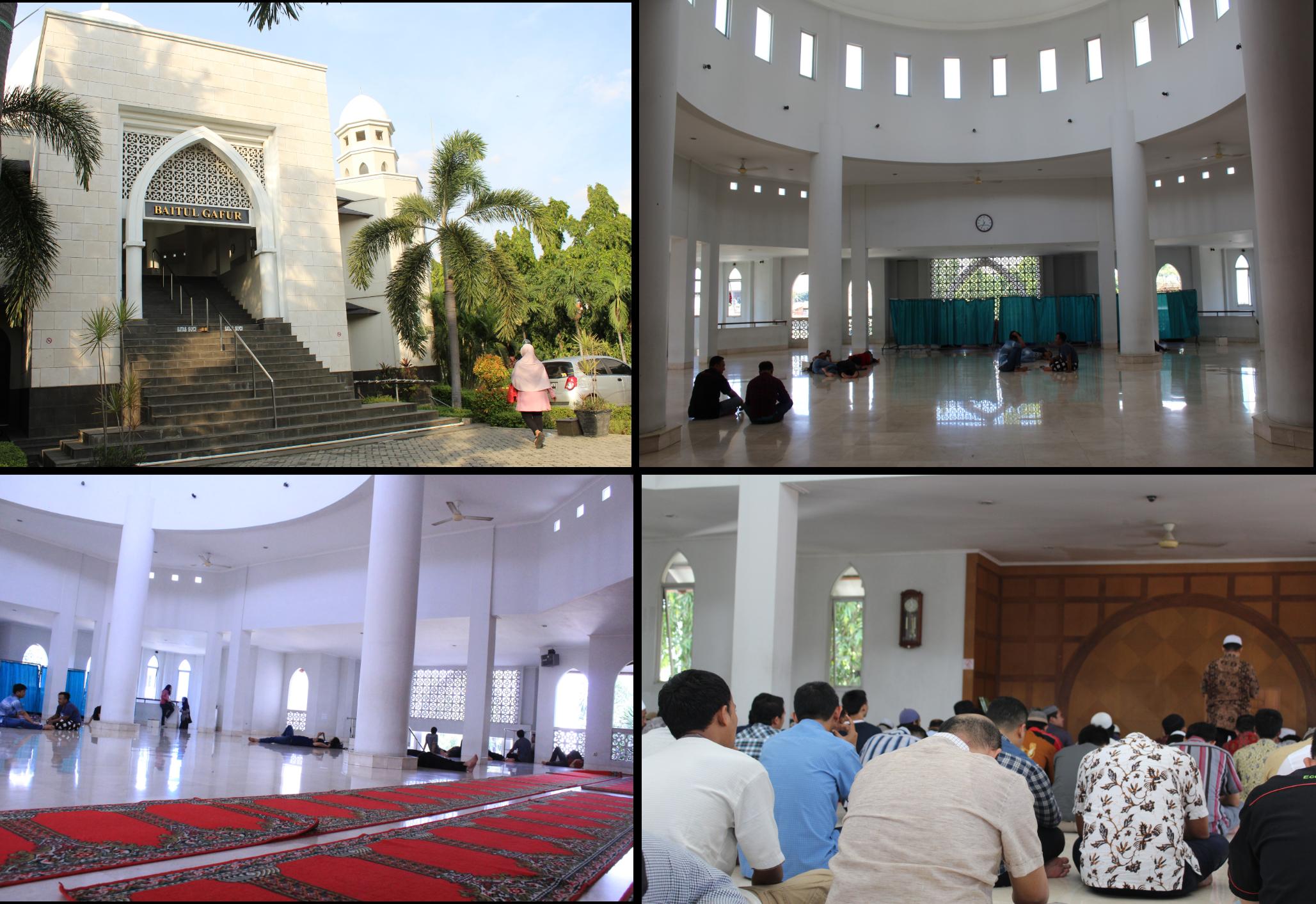 Suasana Masjid Baitul Gafur