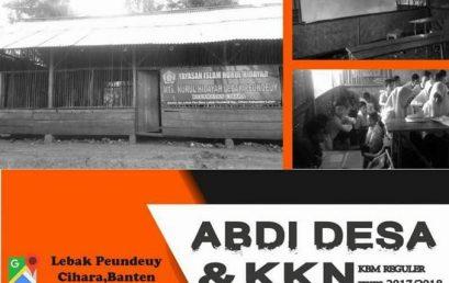 Abdi Desa dan KKN Universitas Esa Unggul