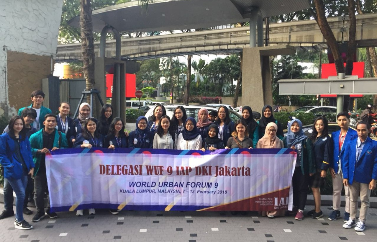 Planologi Esa Unggul Ikuti World Urban Forum 9 di Kuala Lumpur Malaysia
