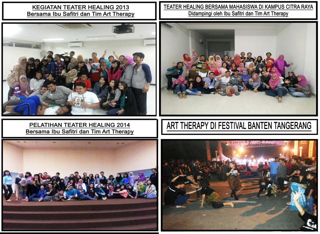 Kegiatan Art Therapy dan Theater Healing