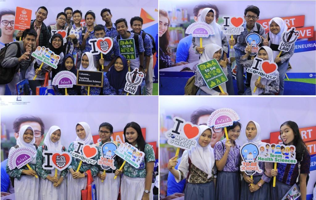 Keseruan Saat Foto Booth di Pameran Pendidikan JCC Senayan