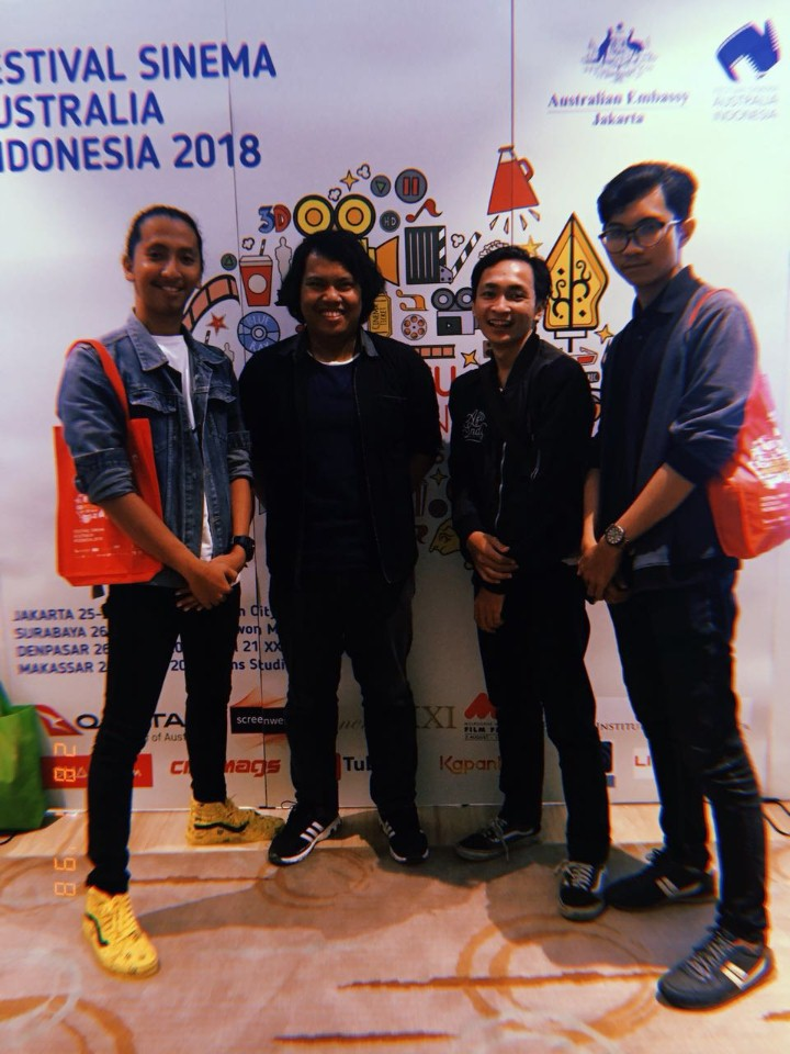 Film Tuwaga Karya Mahasiswa FDIK Esa Unggul Masuk Enam Besar di Ajang Festival Sinema Australia
