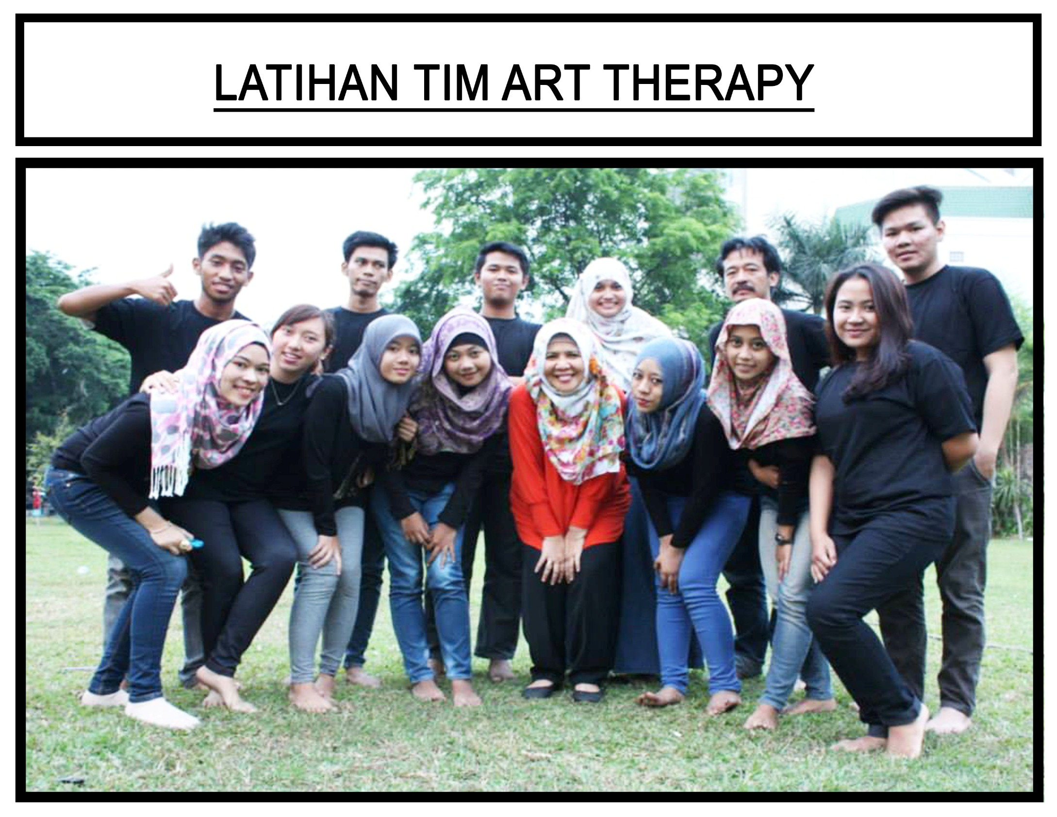 Tim Art Therapy Fakultas Psikologi Universitas Esa Unggul