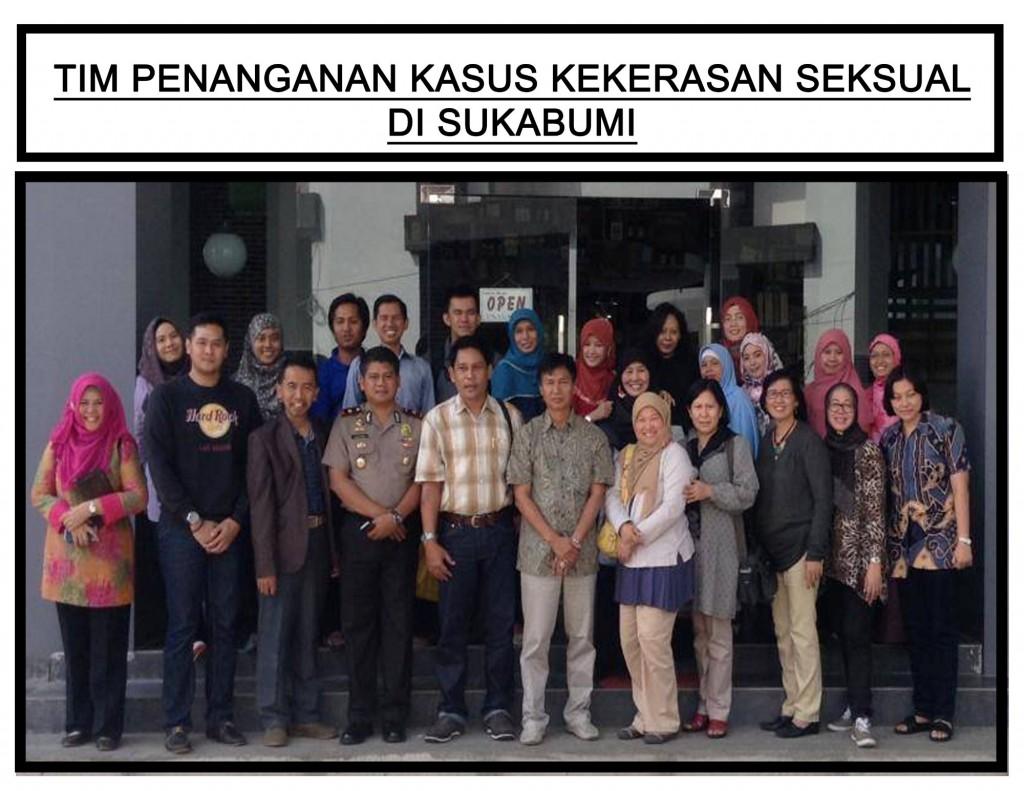 Tim Penanganan Kasus Kekerasan Seksual di Sukabumi