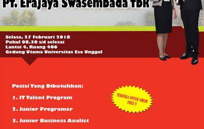 PT. Erajaya Swasembada Tbk