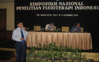Simposium Nasional Penelitian Fisioterapi Indonesia