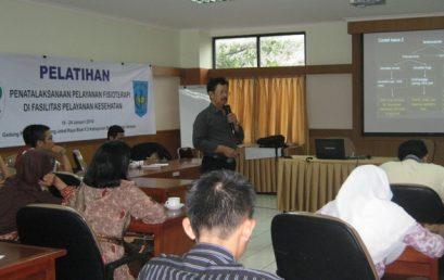 Pelatihan Penatalaksanaan Pelayanan Fisioterpi