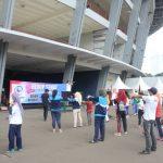 Hidup Sehat Bersama Universitas Esa Unggul di Gelora Bung Karno, Senayan tanggal 29 Mei 2016