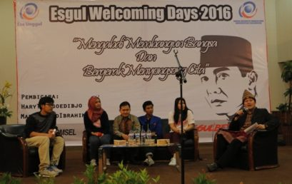 Esa Unggul Welcoming Days 2016