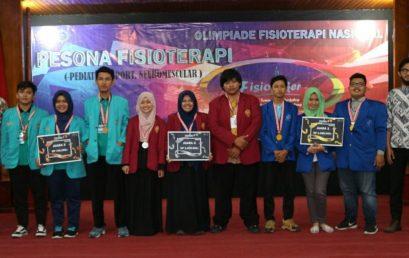 Fisioterapi Esa Unggul Raih Juara 1 Kejuaraan Tahunan Fisioterapi Se-Indonesia
