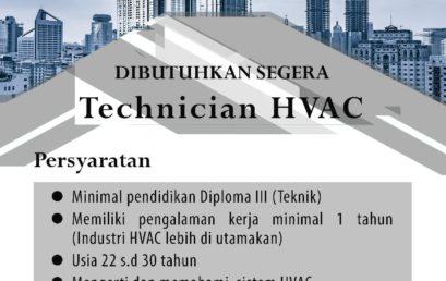 Lowongan Kerja PT. BUKAKA INTI aircon (Technician)