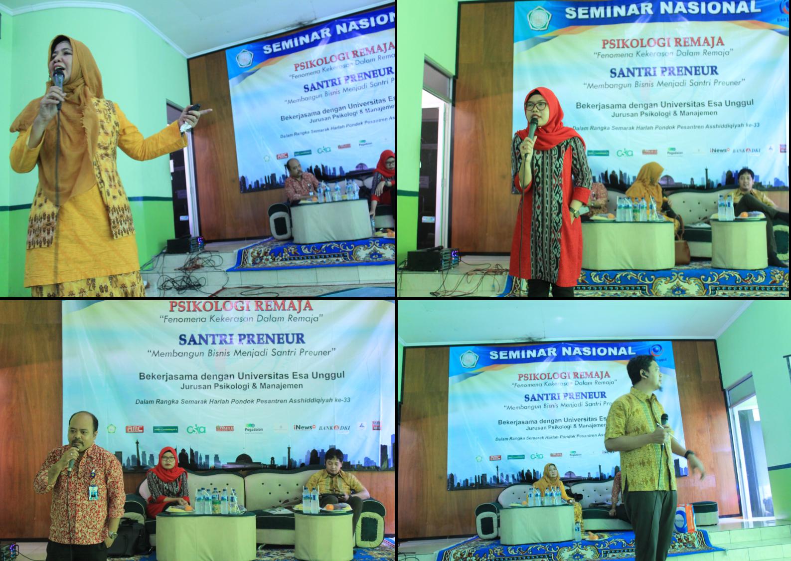 Para Pembicara Dalam Seminar
