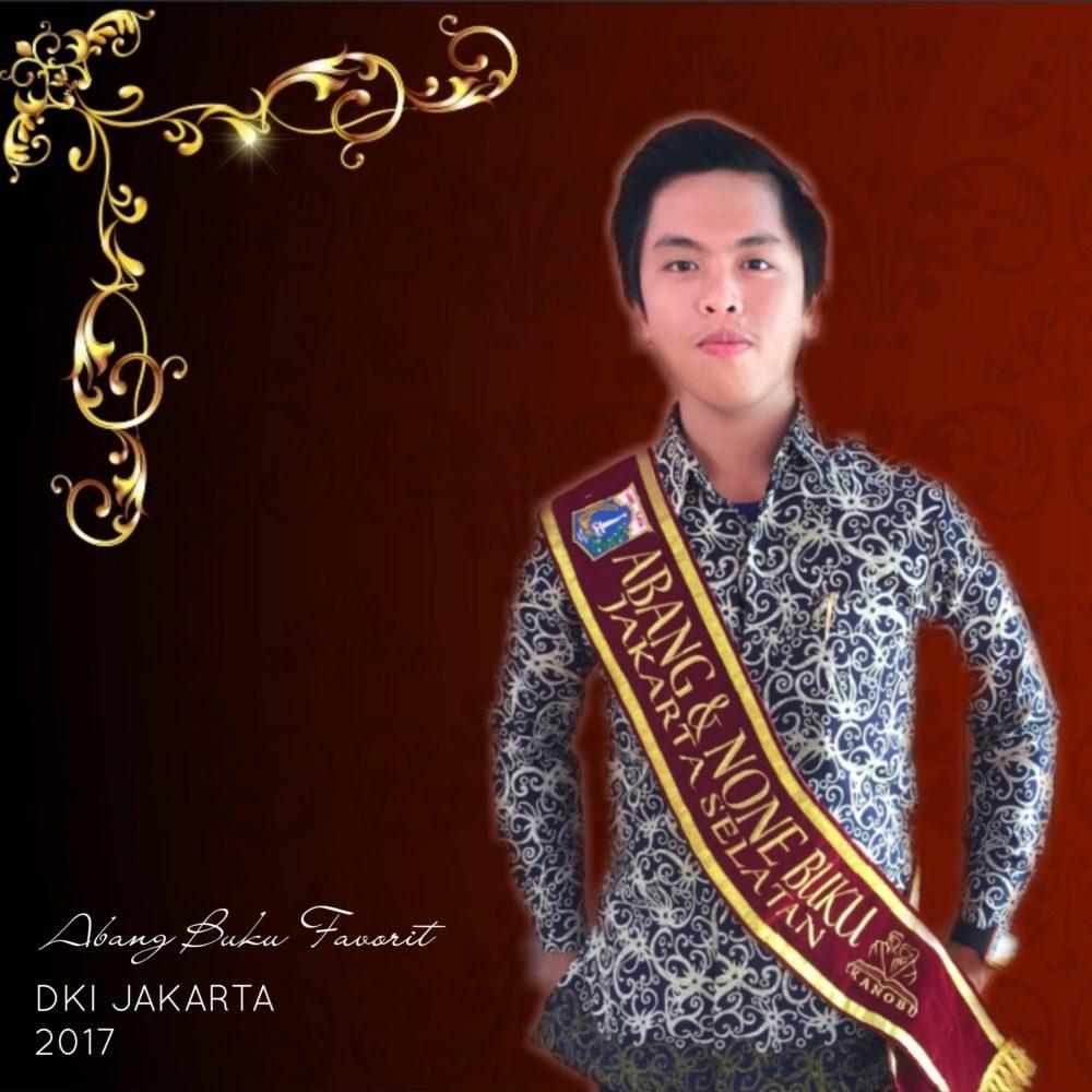 Mahasiswa Psikologi Esa Unggul Raih Juara Favorit Abang & None Buku DKI Jakarta 2017
