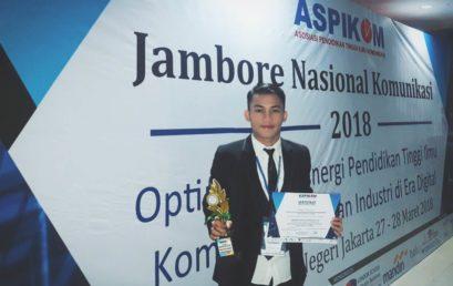 Mahasiswa Jurnalistik Esa Unggul Juara di Ajang Jambore Komunikasi Nasional