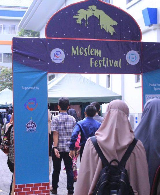Moslem Festival Esa Unggul Momentum Tingkatkan Spiritualitas dan Semangat Juang Pemuda Muslim