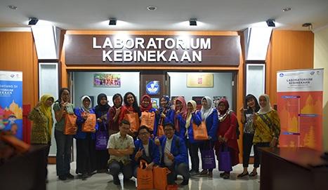 Prodi Bahasa Inggris Esa Unggul Kunjungi Laboratorium Kebinekaan Bahasa dan Sastra Kemendikbud
