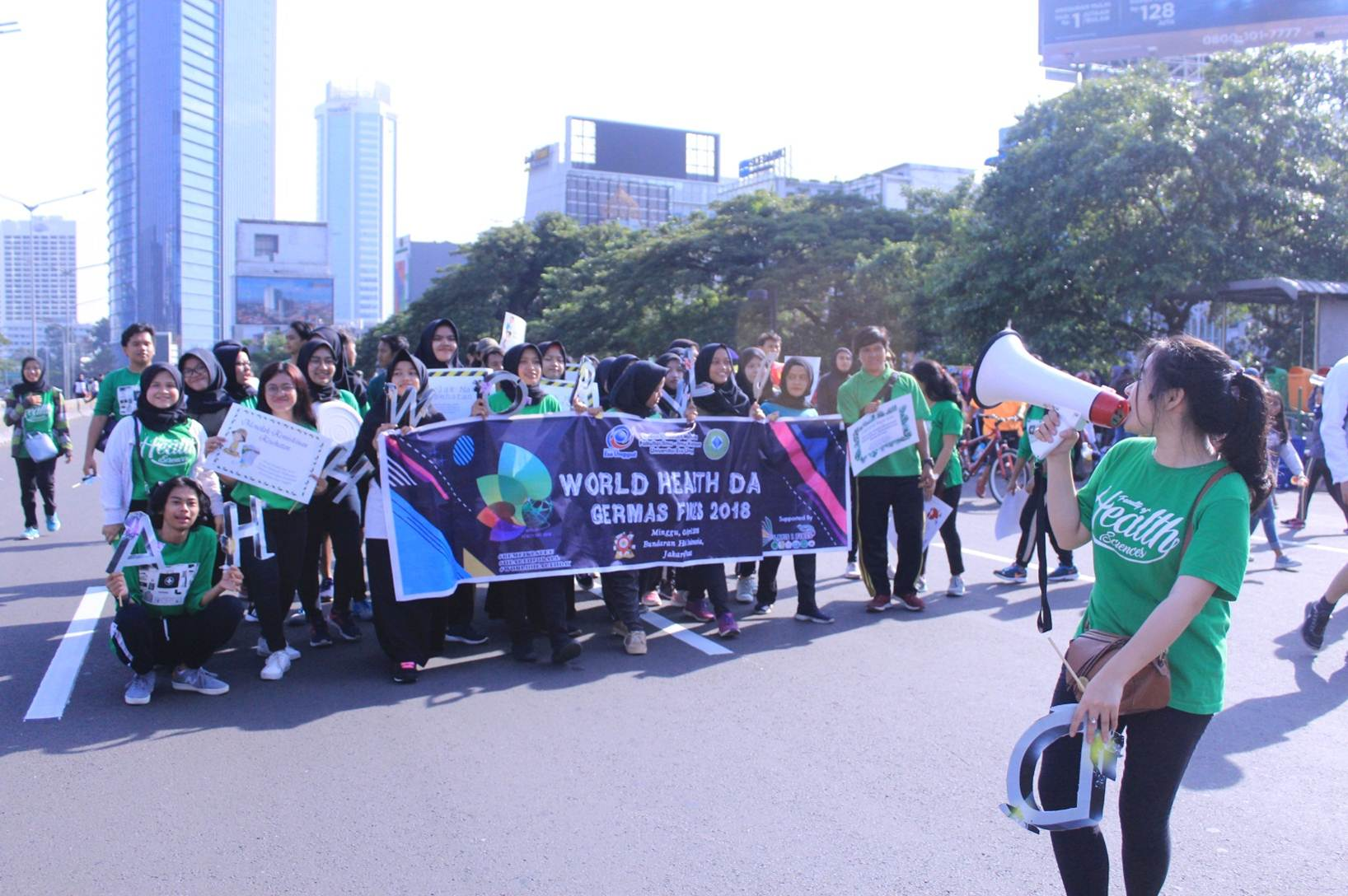 Orasi Mahasiswa FIKES Peringati World Health Day