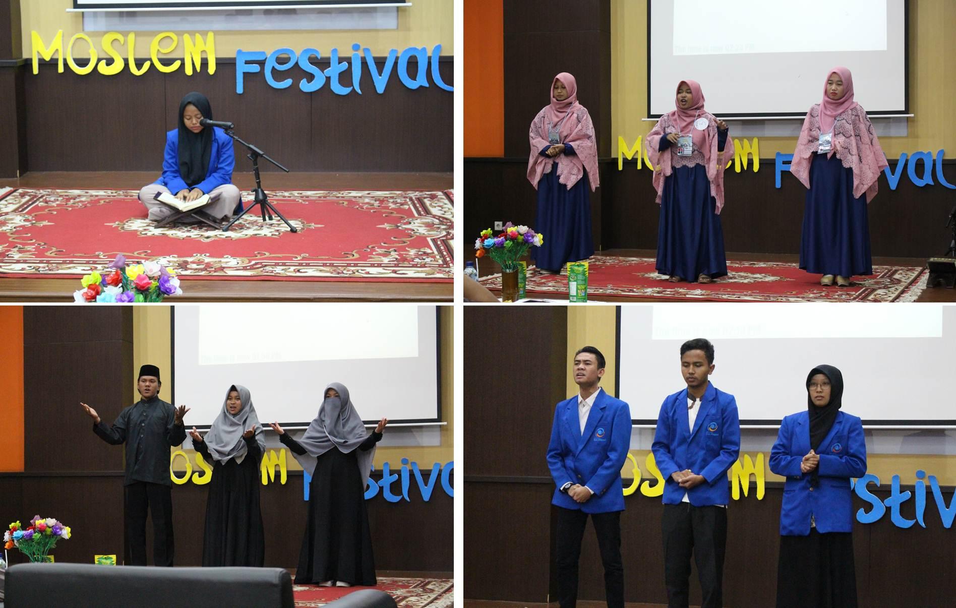 Perlombaan di Moslem Festival