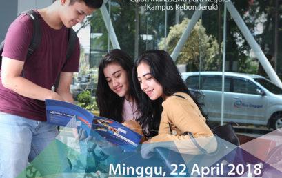 Ujian Saringan Masuk (USM) Gelombang 3 April Tahun 2018
