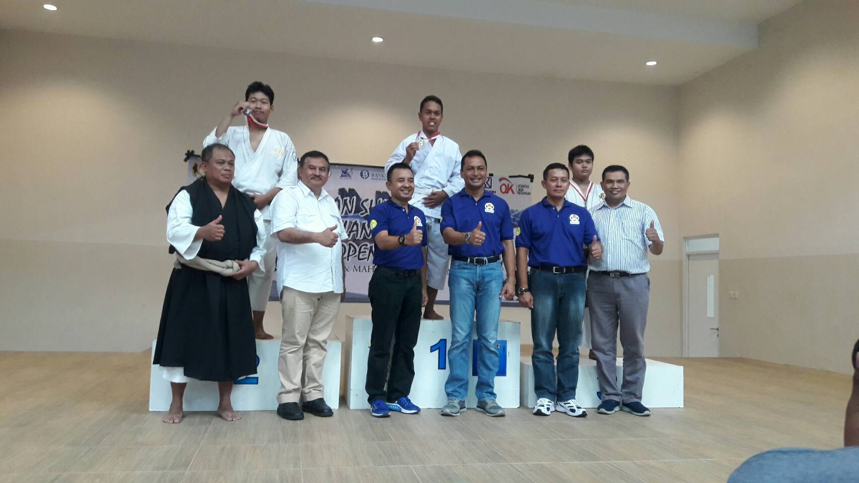 Partisipasi Universitas Esa Unggul dalam Kejuaraan Shorinji Kempo UNJ LANUD HALIM OPEN 2018 Antar Pelajar dan Mahasiswa Se-Indonesia.