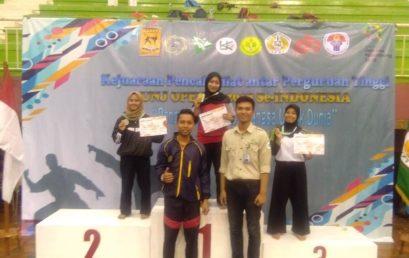 Ely Safitri, Mahasiswa Manajemen Esa Unggul Sabet Juara 2 Pencak Silat UNJ Open Cup