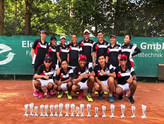 Skuad Tim Soft tenis Indonesia