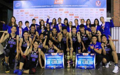 The Swans Universitas Esa Unggul Raih Peringkat Dua Ajang Bola Basket LIMA 2018