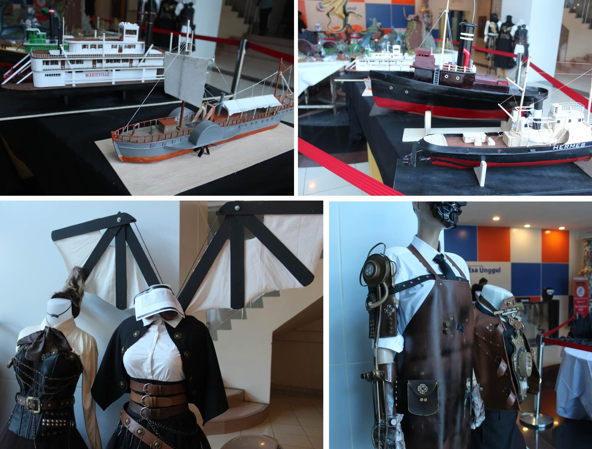 Karya Costum dan Miniatur Kapal Pesiar